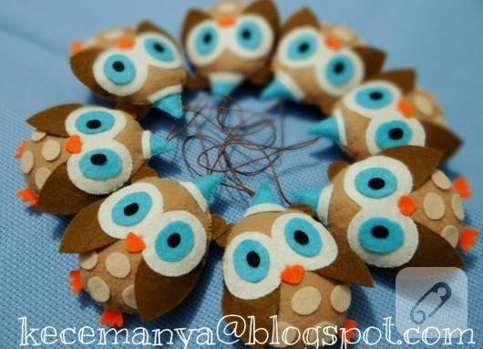 baykuş bebek şekerleri