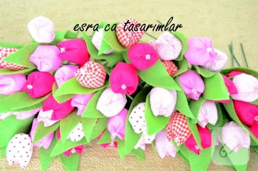 kumas-lale-dekoratif-cicek-