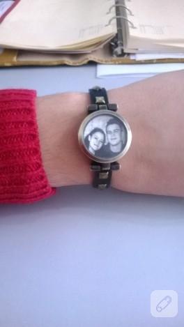 Saat değerlendirme – fotoğraflı bileklik