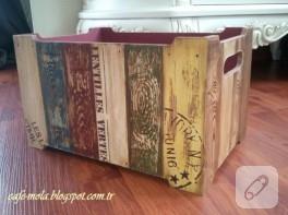 Ahşap kasa yenileme – dekorasyon fikirleri