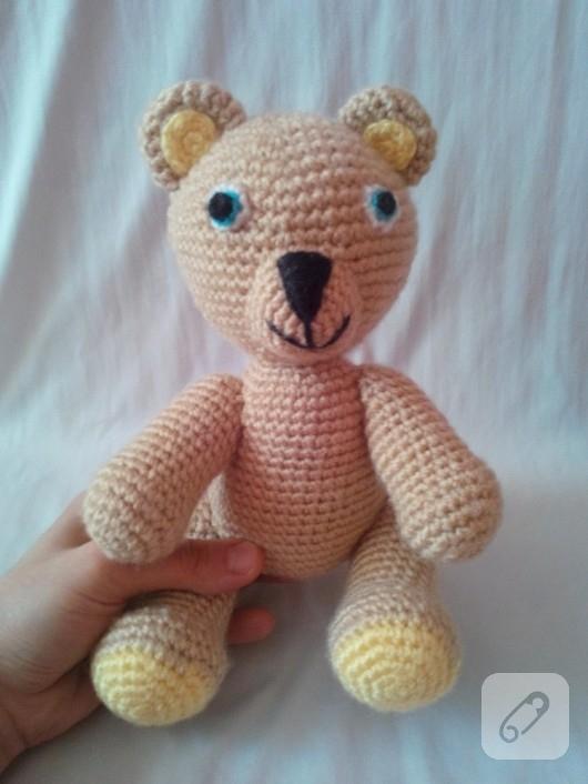 Amigurumi Oyuncak Ayı Yapımı - Free Pattern #crochet #amigurumi ... | 706x530