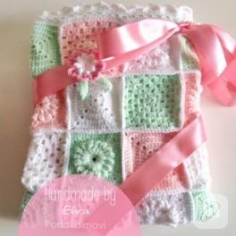 Kız bebek battaniyesi