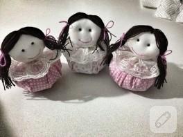 Bebek şeklinde lavanta keseleri