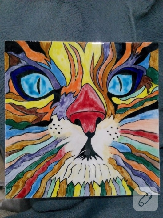 Kedi Desenli El Boyamasi Cini Karo 10marifet Org