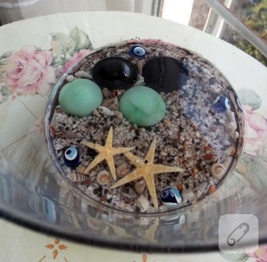 deniz temalı vazo yapımı