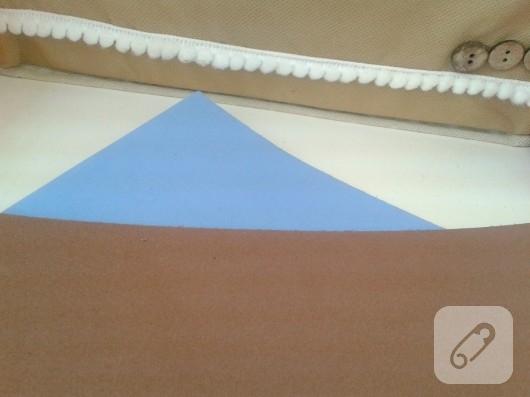 Eva kağıdından kalemlik yapımı