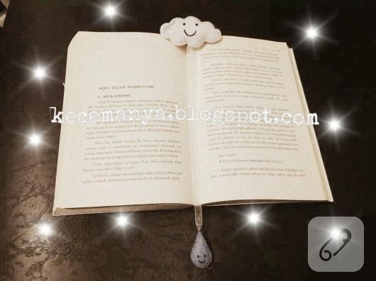 keçe kitap ayracı