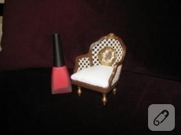 Klasik minyatür koltuk
