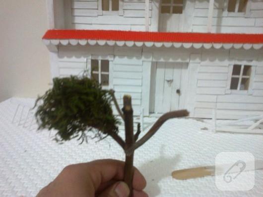 Minyatür maket ev