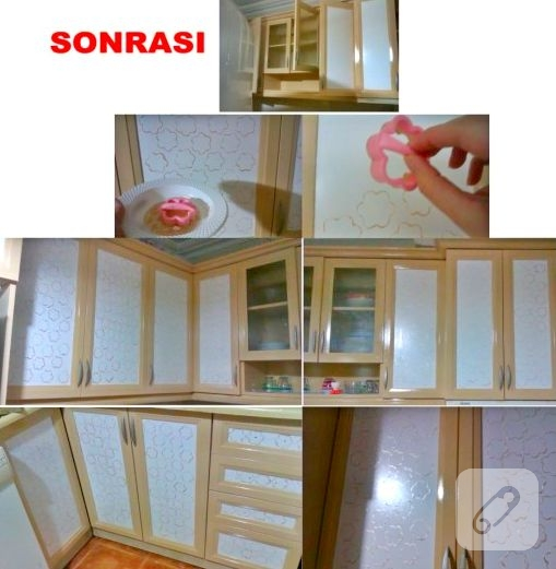 mobilya boyama mutfak dolabı yenileme
