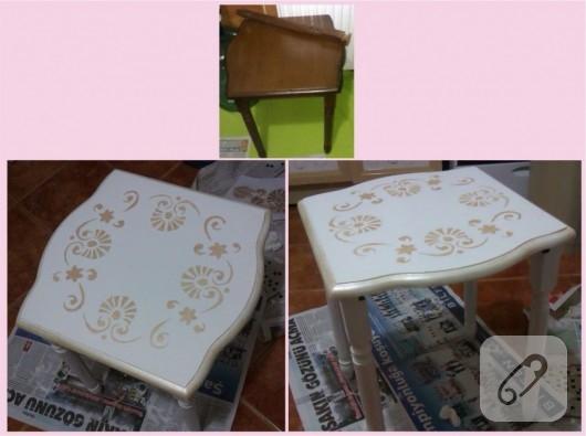 mobilya-boyama-sehpa-yenileme