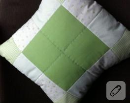 Patchwork yastık modeli