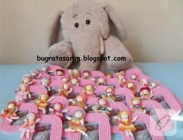 Çerçeve magnetli bebek şekerleri