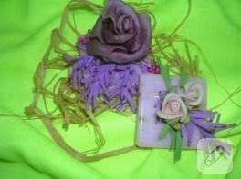 Bahar temalı sabun süsleme örnekleri