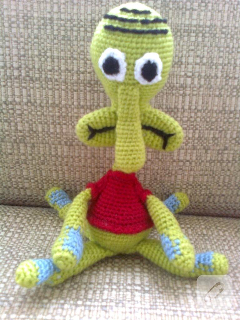 Amigurumi örgü fil oyuncak video