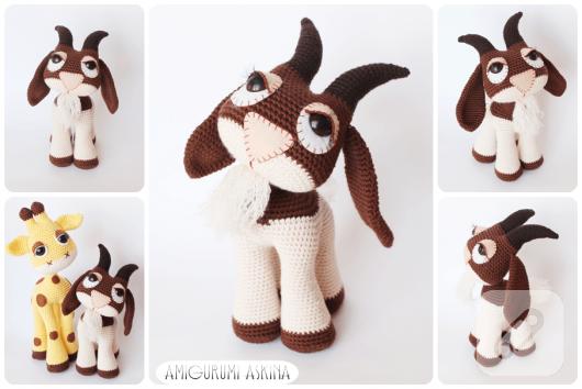 Amigurumi keçi
