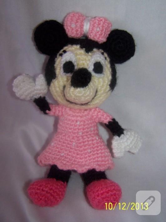 Minnie Mouse Amigurumi Paso A Paso : Amigurumi Minnie Mouse - Imagui