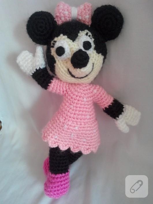 Amigurumi Mickey ve Minnie Mouse 10marifet.org