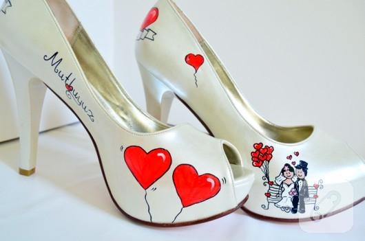 ayakkabı boyama