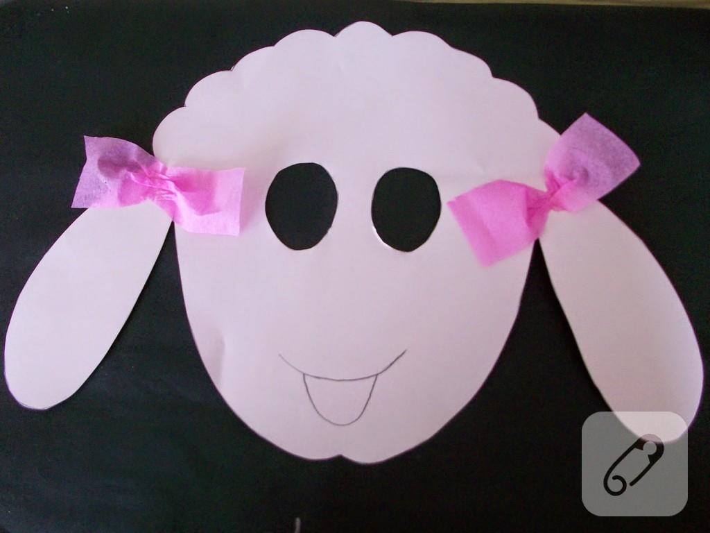 cocuk-etkinlikleri-kagittan-kuzu-maskesi-yapimi