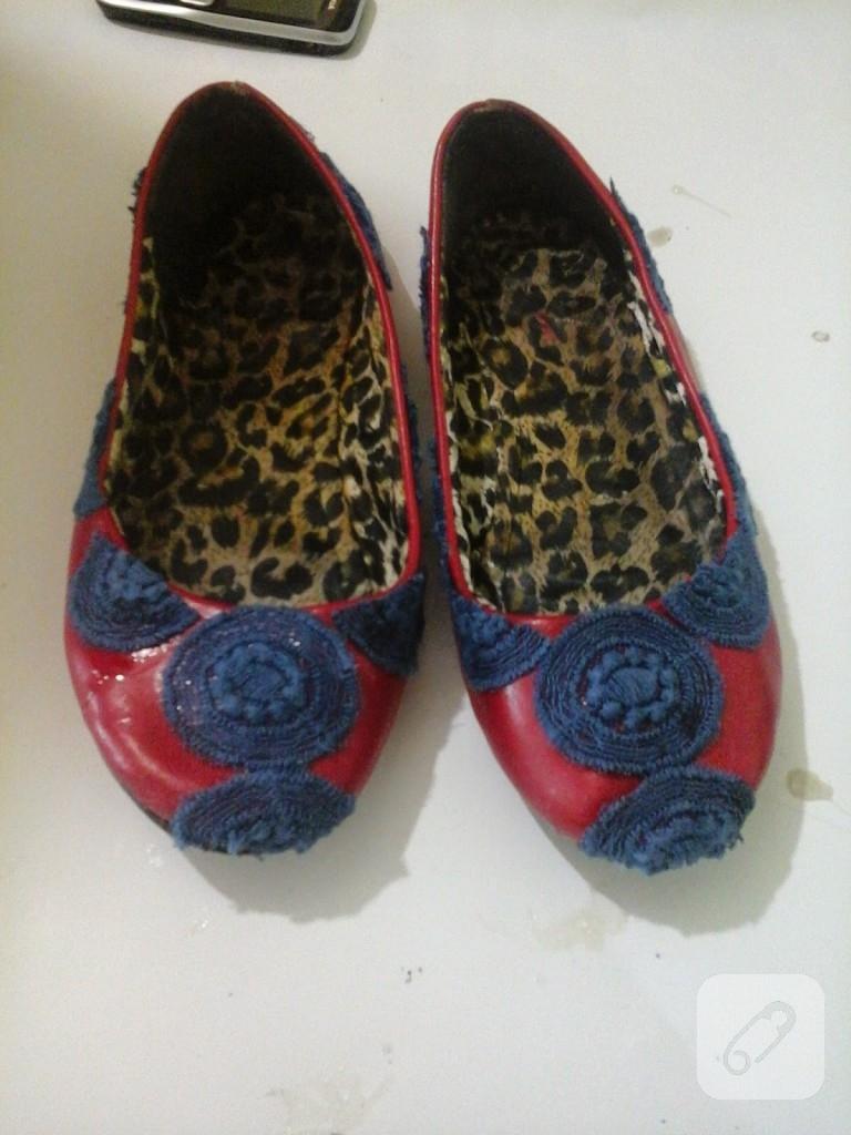 dantel-parcalari-ile ayakkabi-yenileme
