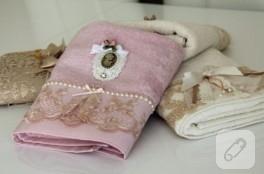 Kraliyet havluları – dantelli havlu kenarı modelleri