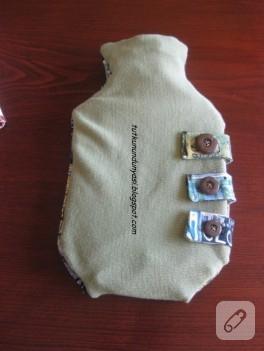 Eski kazaktan sıcak su torbası kılıfı yapımı