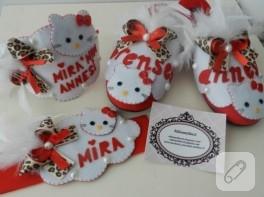 Hello Kitty'li lohusa takımı