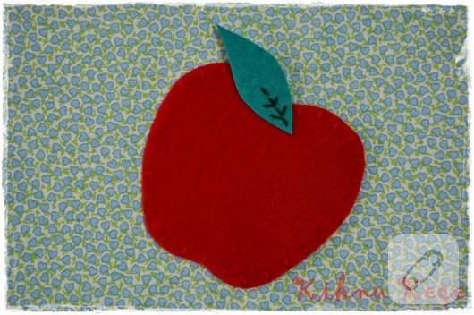 elma bardak altlığı