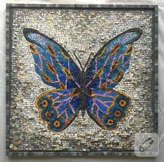 kelebekli-mozaik-tablo