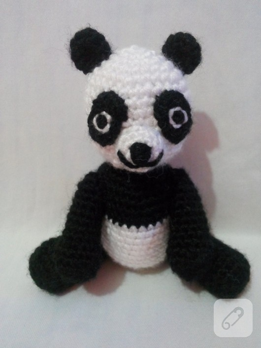 Amigurumi ?rg? panda 10marifet.org