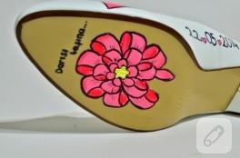 Mutlu gelin ayakkabıları