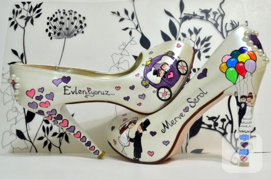 ayakkabi-boyama-gelin-ayakkabilari-
