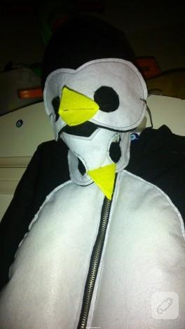 Çocuklar için penguen kostümü