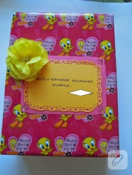 Tweety'li hediye paketi
