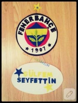 Fenerbahçe/Trabzonspor kapı süsü