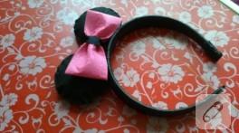 Minnie Mouse tacı yapımı