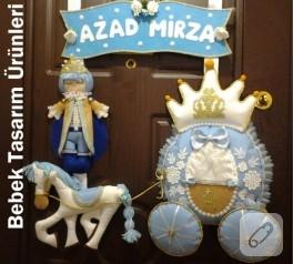 Atlı prens kapı süsü