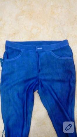 Dar paça pantolon modeli