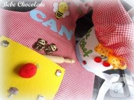 Çocuk mutfak önlüğü ve şapka