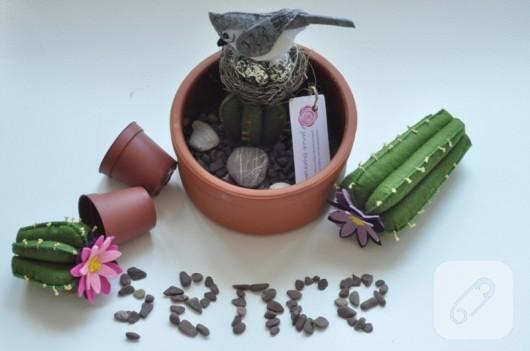 kece-cicek-yapimi-saksida-kaktus-ve-kus-8