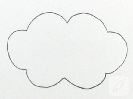 Keçe Bulut Duvar Süsü Yapımı 10marifetorg