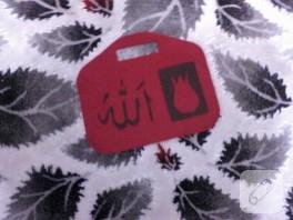 Laleli keçe çanta