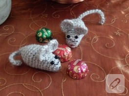Amigurumi yavru fare yapımı
