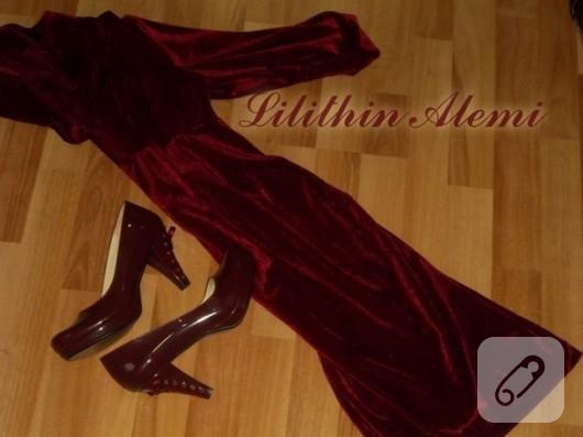 kirmizi-kadife-elbise-