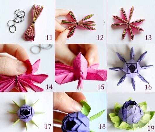 origami-cicek-yapimi