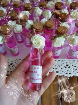 Tüp şişelerde nikah hediyelikleri