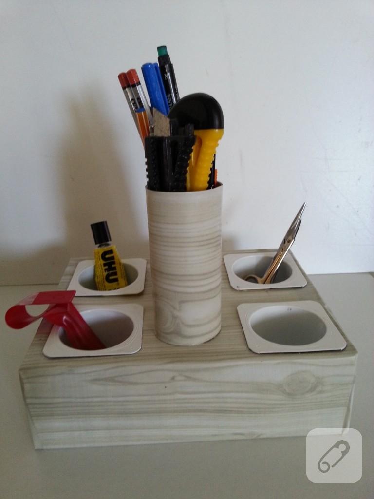 Tuvalet Kağıdı Rulosundan Deniz Kızı Yapımı