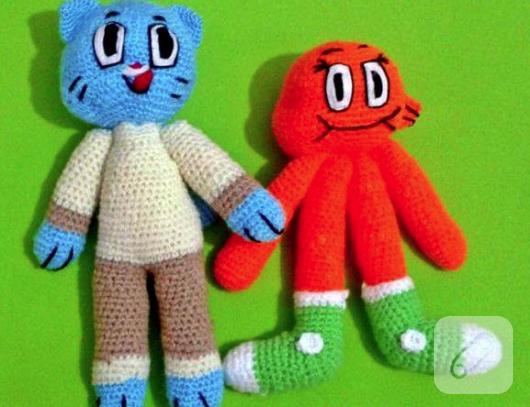 amigurumi-gumball-ve-darwin-orgu-oyuncaklar-2