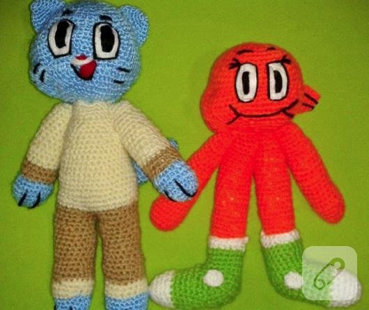 amigurumi-gumball-ve-darwin-orgu-oyuncaklar